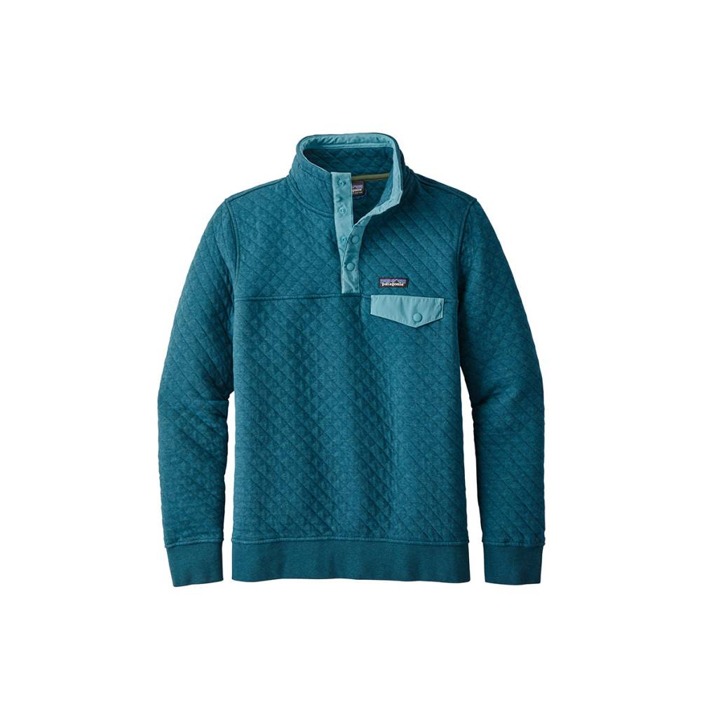 Women's Cotton Quilt Snap-T Pullover