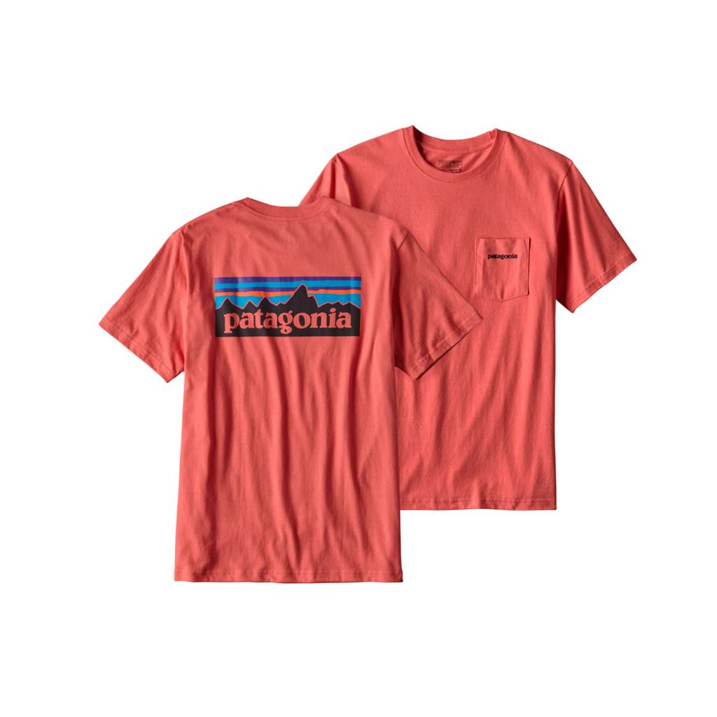 Patagonia Men's P-6 Logo Cotton Pocket T-Shirt