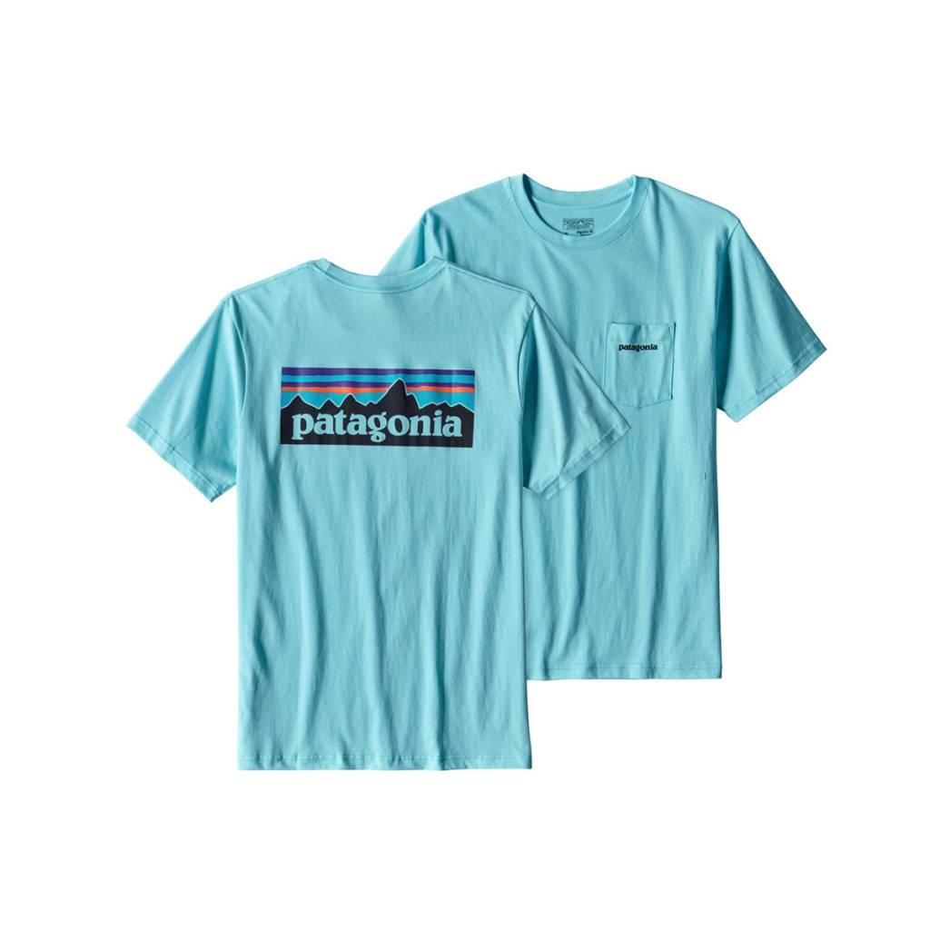 Patagonia Men 39 S P 6 Logo Cotton Pocket T Shirt Gearhead