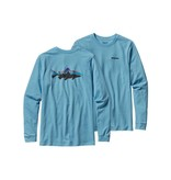 Patagonia Men's Long-Sleeve Fitz Roy Trout Cotton T-Shirt
