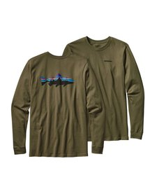 M L/S Fitz Roy Trout Cotton T-Shirt