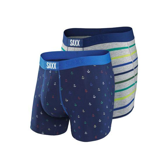 Saxx Underwear Co. Saxx Vibe Boxer Modern Fit 2 Pack