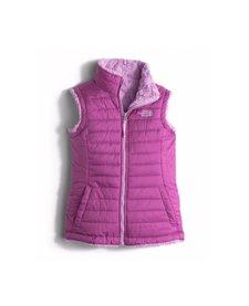 Girls Reversible Mossbud Swirl Vest