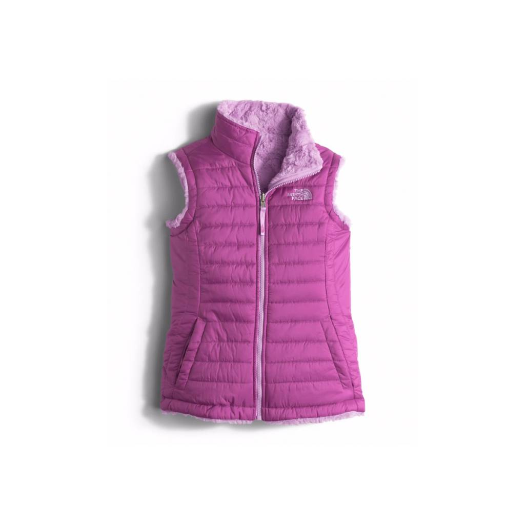 The North Face Girls Reversible Mossbud Swirl Vest