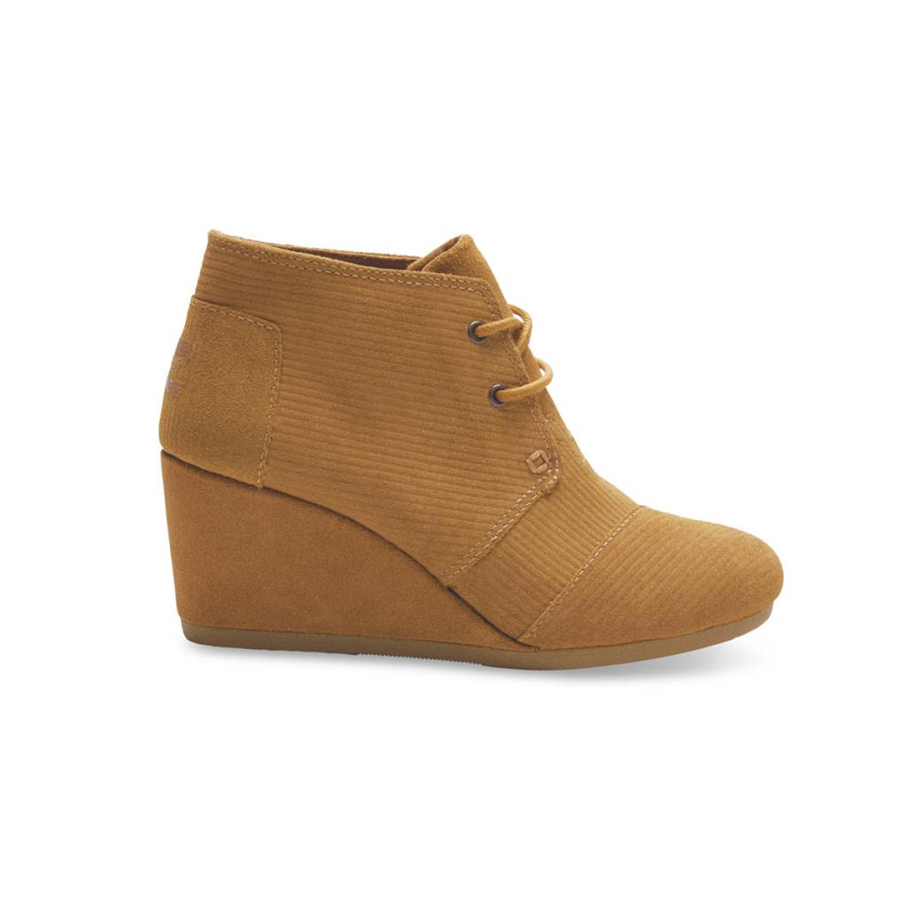 Toms Women's Desert Wedges Boot