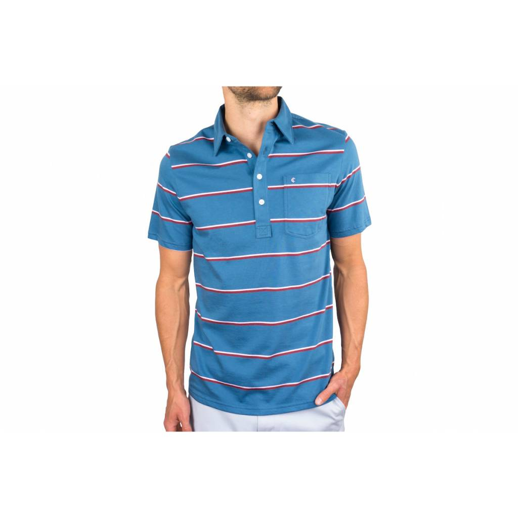 Striped Players Short Sleeve Shirt