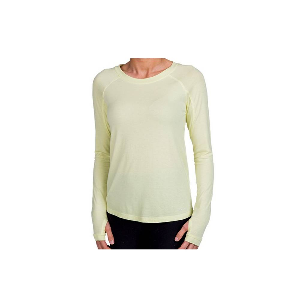Free Fly Apparel Women's Bamboo Midweight LS