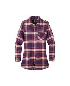 Women's Penny Plaid Tunic Shirt