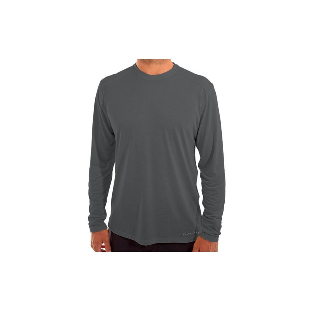 Free Fly Apparel Men's Bamboo Lightweight Long Sleeve