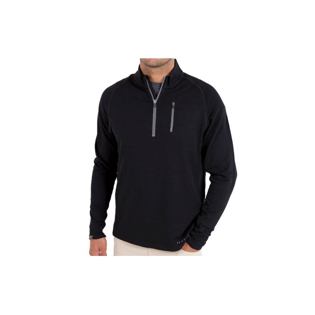 Free Fly Apparel Men's Bamboo Fleece Quarter Zip