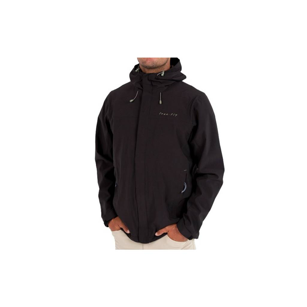 Free Fly Apparel Men's Bamboo-Lined Crossover Jacket
