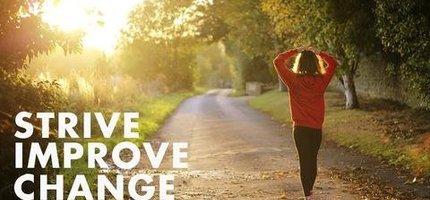 Strive. Improve. Change.
