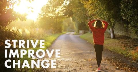 Strive. Improve. Change.