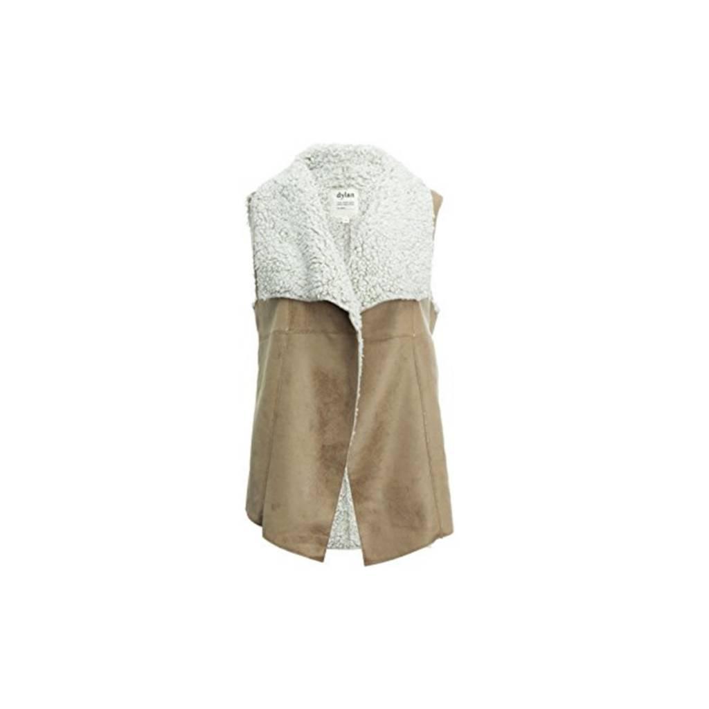 True Grit Women's Frosty Tipped Shearling Vintage Vest