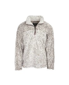 Men's Frosty Tipped Pile 1/2 Zip Pullover