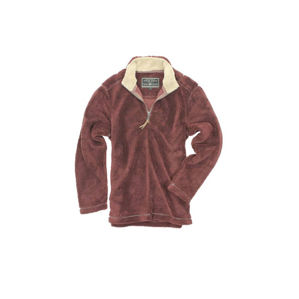 True Grit Men's Pebble Pile 1/4 Zip Pullover