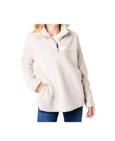 Women's Plush Pebble Pile Stadium Pullover
