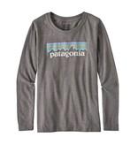 Patagonia Girls Pastel P-6 Logo Cotton/Poly T-Shirt