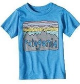 Patagonia Baby Fitz Roy Skies Cotton/Poly T-Shirt