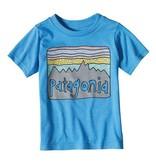 Patagonia Baby Fitz Roy Skies Cotton T-Shirt