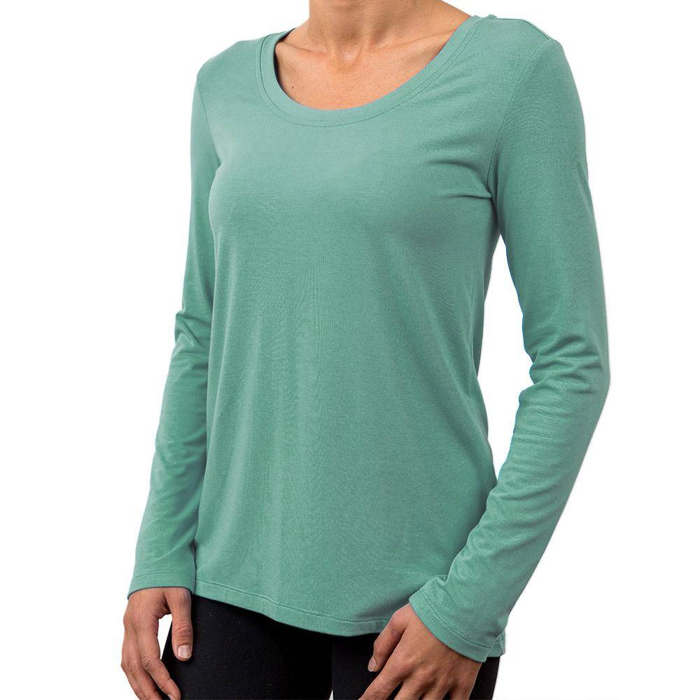 Free Fly Apparel Womens Bamboo Flex Long Sleeve