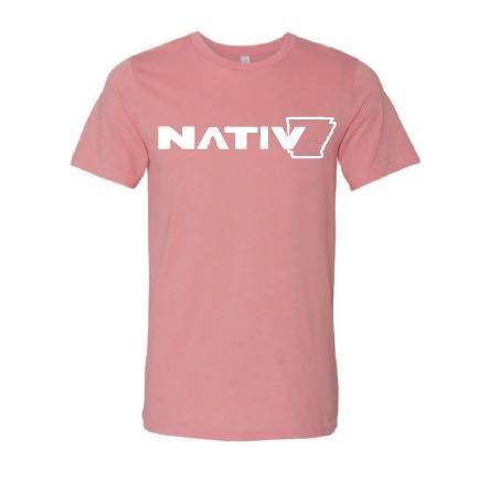 Nativ Nativ AR State Logo SS Tee
