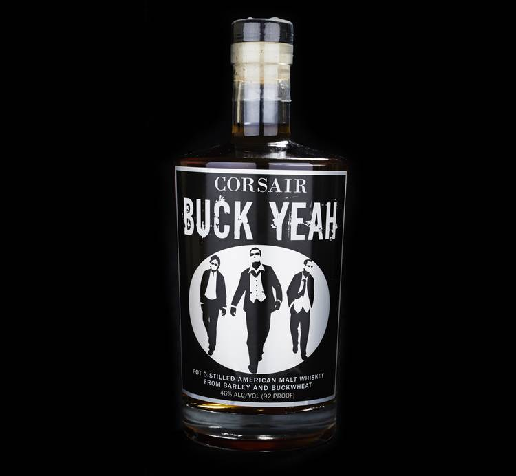 Corsair Buck Yeah Buckwheat Whiskey