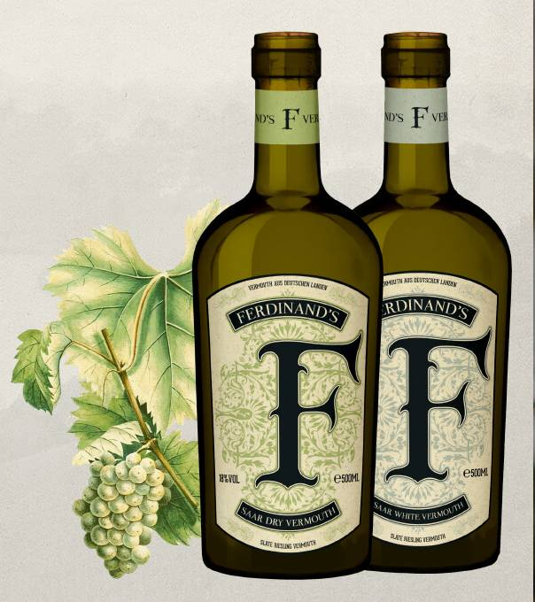 Ferdinand's Saar Dry Vermouth 500mL
