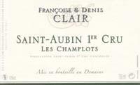 Domaine Francoise et Denis Clair Saint-Aubin 1er Cru Les Champlots