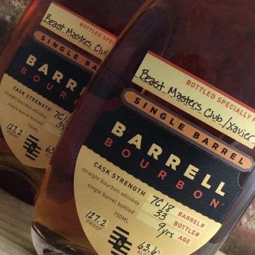 Beast Masters Barrell Bourbon Private Cask 7