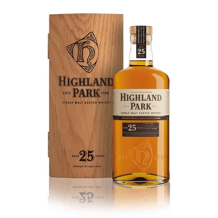 Highland Park 25 Year Single Malt Scotch