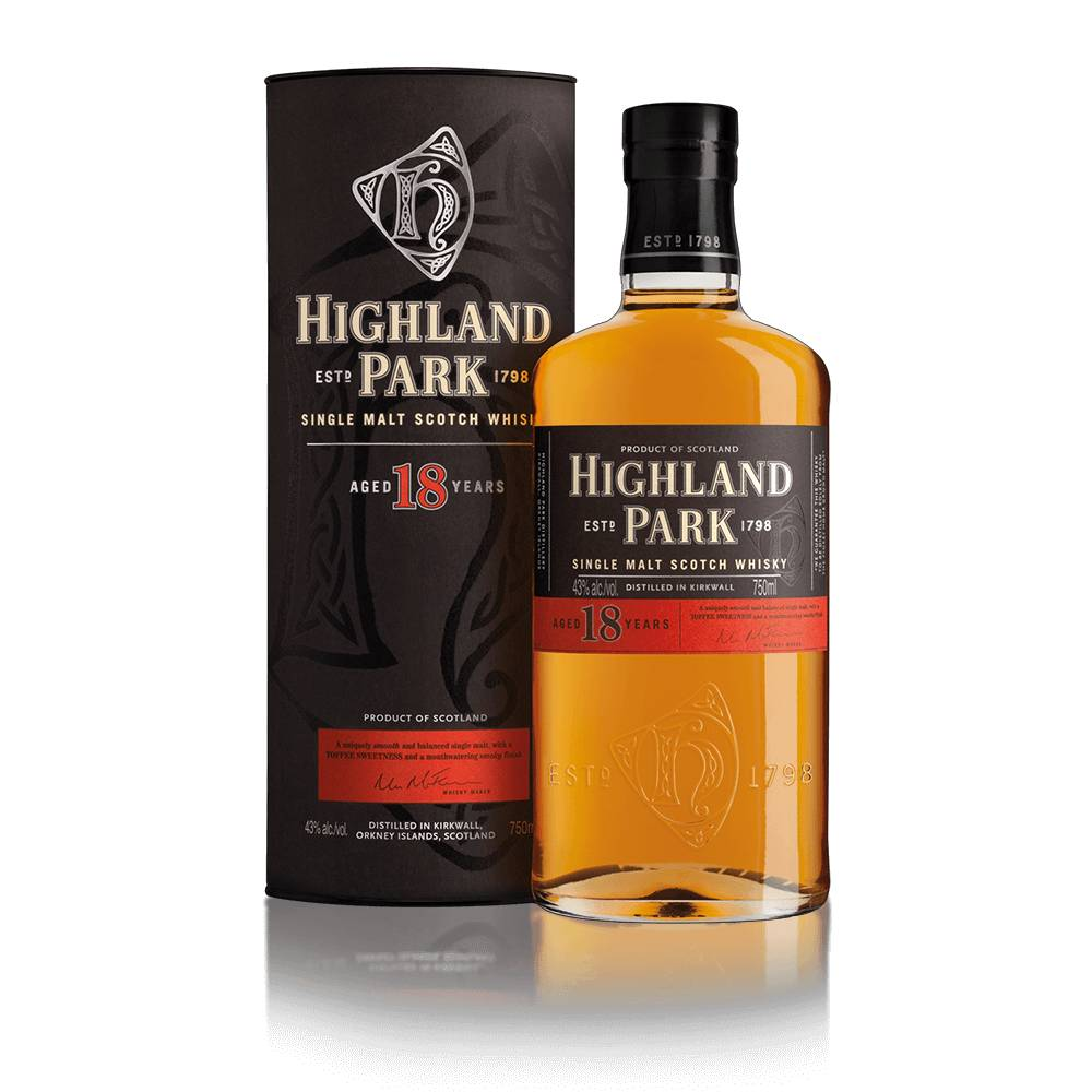 Highland Park 18yr Single Malt Scotch Whiskey 750ml
