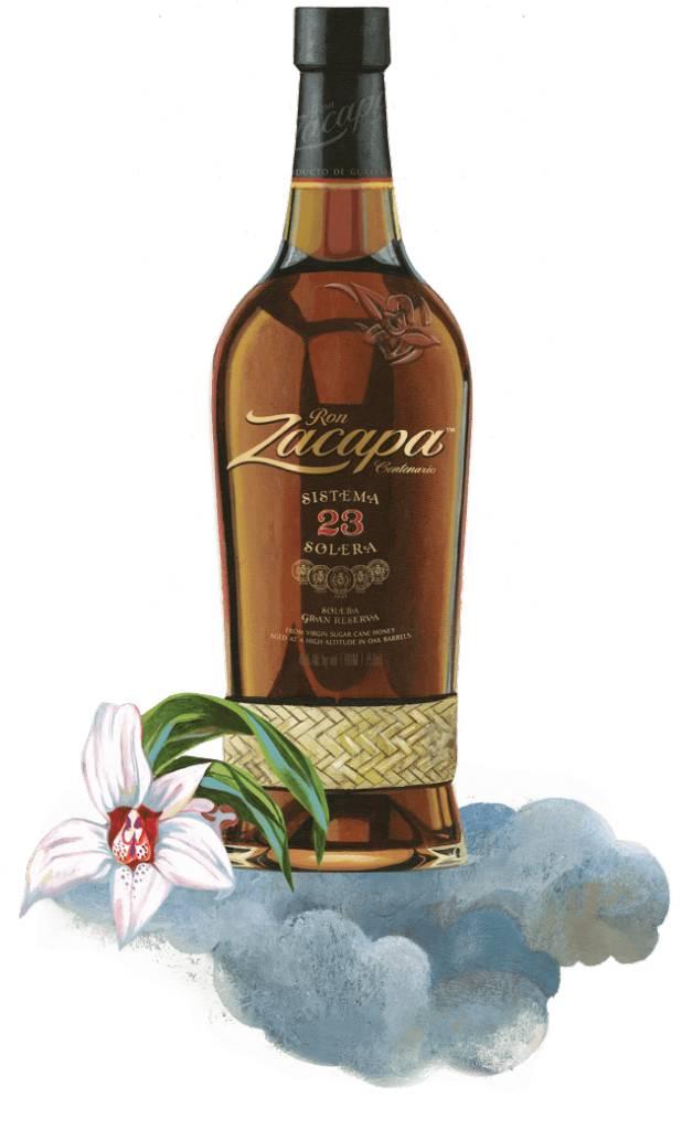 Ron Zacapa 23yr Solera Rum 50mL