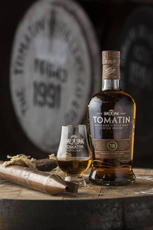 Tomatin Single Malt Scotch Whiskey 18yr