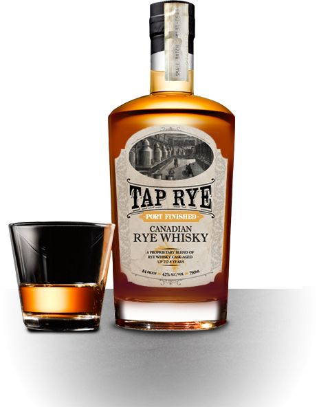 Tap Canadian Rye Whisky Port Finished