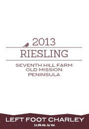 Left Foot Charley Seventh Hill Farm Riesling