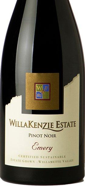 WillaKenzie Estate Pinot Noir Emery