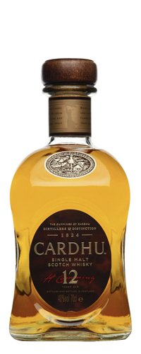Cardhu 12 Year Single Malt Scotch