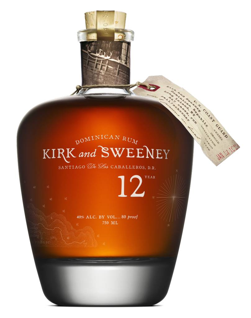 Kirk and Sweeney 12 Year Dominican Rum