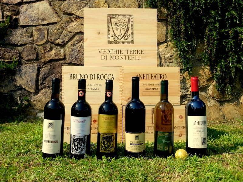 Vecchie Terre di Montefili Toscana Bruno di Rocca 1.5L