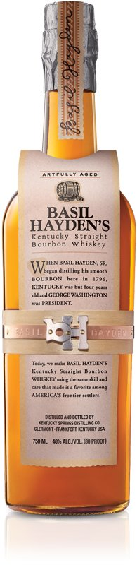 Basil Hayden Rye Whiskey Exclusive Release