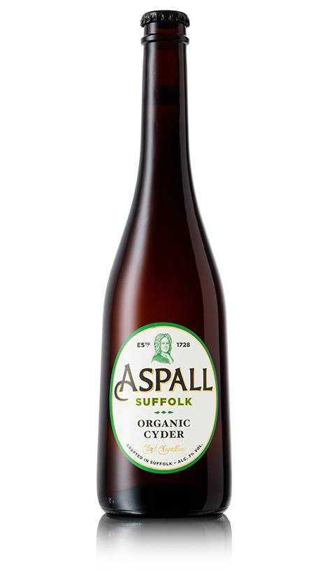 "Aspall Organic English Cider ""Grand Cru"" 500mL"
