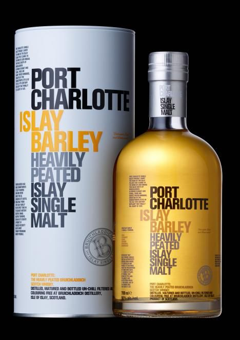Bruichladdich Port Charlotte Heavily Peated Islay Single Malt Scotch 750ml