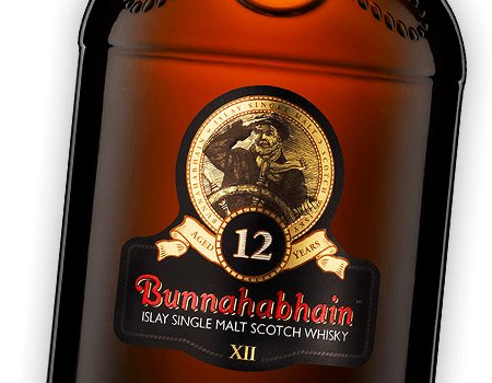 Bunnahabhain 12yr Islay Single Malt Scotch Whisky 750ml