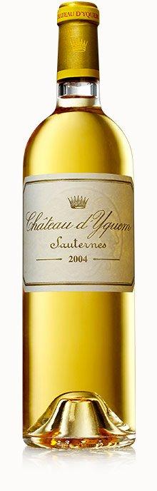 Chateau d'Yquem Sauternes 750mL - 2004