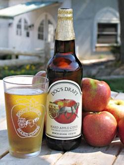 Doc's Original Hard Apple Cider 22 Oz.