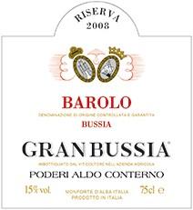 Aldo Conterno Barolo Riserva Granbussia 2006