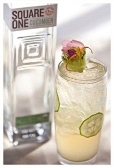 Square One Organic Cucumber Vodka 750mL