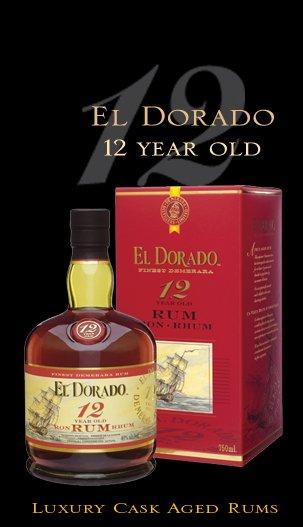 El Dorado Cask Aged 12yr Rum 750ml