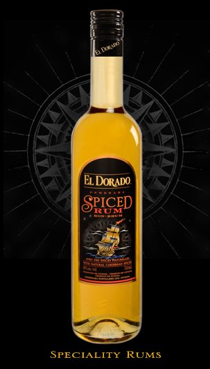 El Dorado Spiced Rum 750 mL